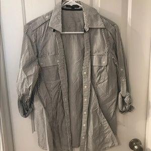 Express Womans Button Up Shirt